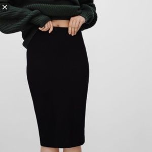 """Wilfred """"Lis"""" Pencil Skirt Textured"""